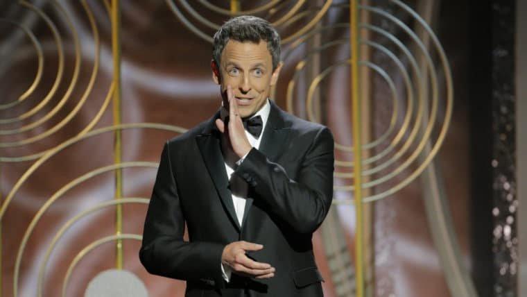 Globo de Ouro | Seth Meyers critica Kevin Spacey e Woody Allen em monólogo de abertura