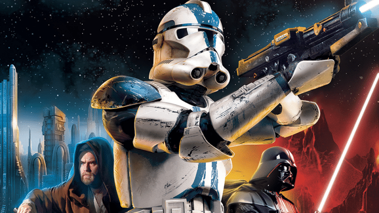 Lançado em 2005, Star Wars: Battlefront II recebe atualização
