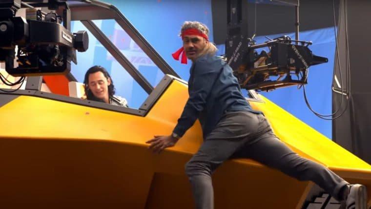 Taika Waititi mostra momentos divertidos das gravações de Thor: Ragnarok em vídeo