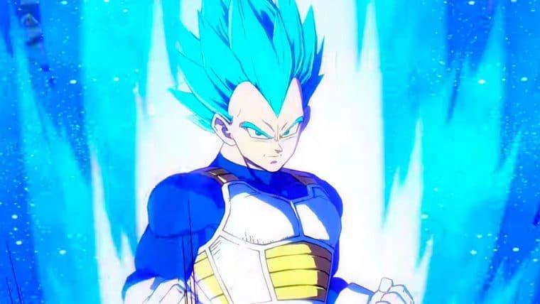 Dragon Ball FighterZ | Vegeta mostra o poder do Super Saiyajin Blue em novo trailer