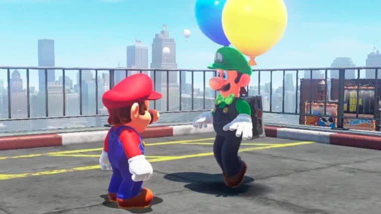 Super Mario Odyssey terá atualização gratuita com novas roupas e atividades