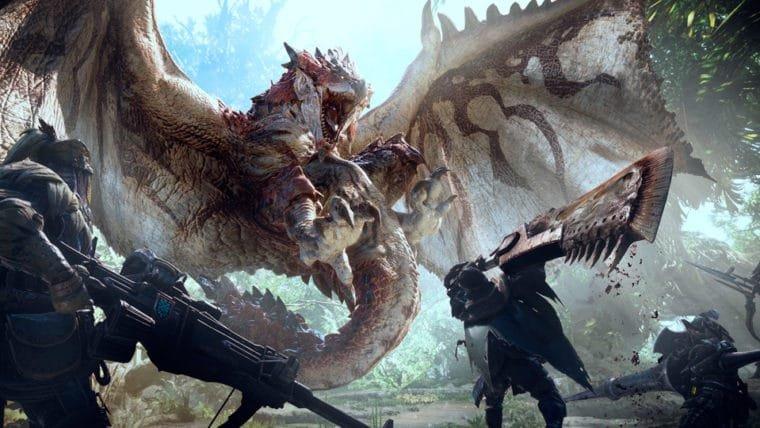 Monster Hunter World só chegará ao PC na segunda metade de 2018