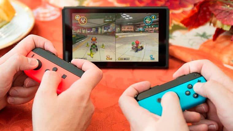 Nintendo divulga lista dos títulos mais jogados em 2017 no Switch
