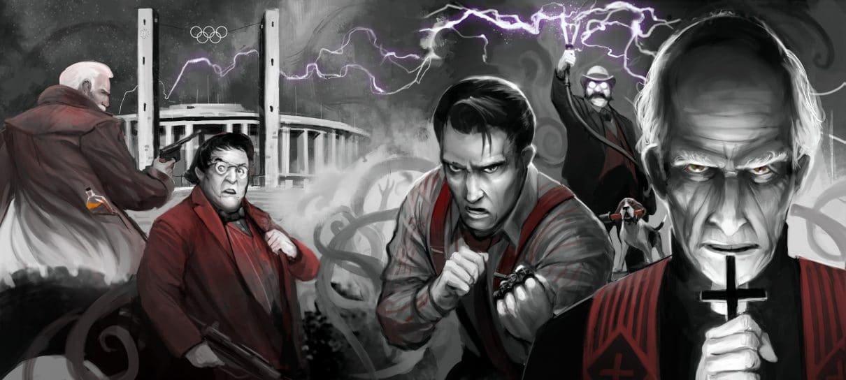 RPG Call of Cthulhu 2: O horror do Necronomicon
