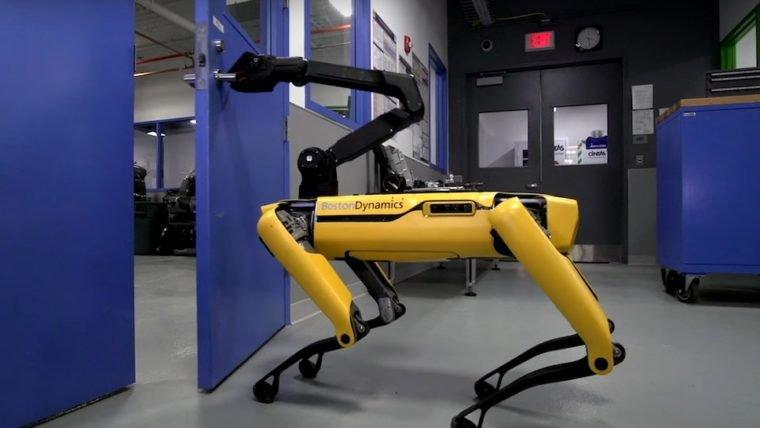 Robô da Boston Dynamics já sabe abrir portas e talvez seja a hora de trocar sua maçaneta