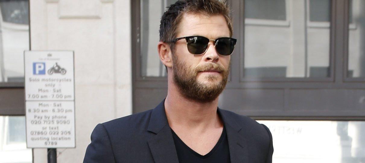 Chris Hemsworth pode estrelar spin-off de Homens de Preto