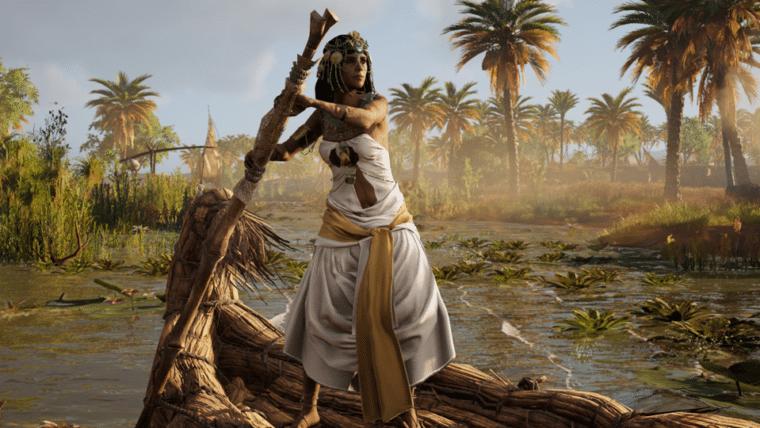 Modo sem combate chega a Assassin's Creed: Origins