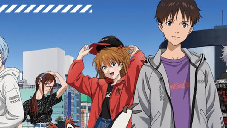 Neon Genesis Evangelion vai ganhar coleção de roupas no Japão