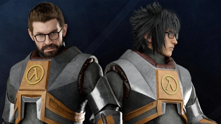 Final Fantasy XV vai ganhar DLC com itens de Half-Life