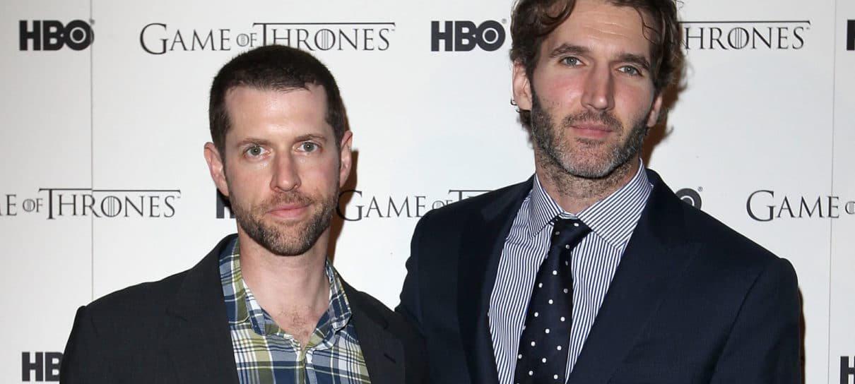 Showrunners de Game of Thrones farão novos filmes para a franquia Star Wars