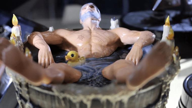 The Witcher 3   Você poderá ter sua própria estátua do Geralt tomando banho
