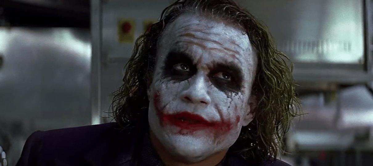 Heath Ledger planejava interpretar Coringa novamente