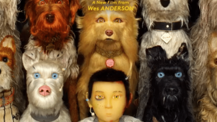Isle of Dogs, a nova animação de Wes Anderson com elenco estrelado, ganha cartaz animado
