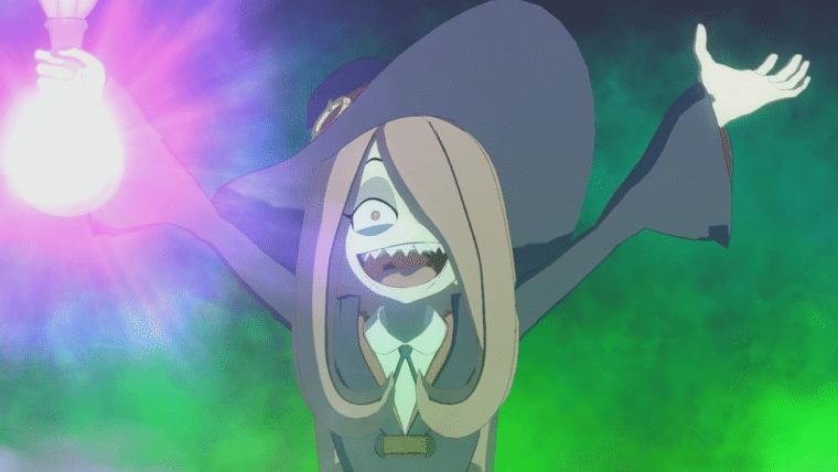 Little Witch Academia: Chamber of Time ganha novas imagens com Akko, Sucy e Lotte