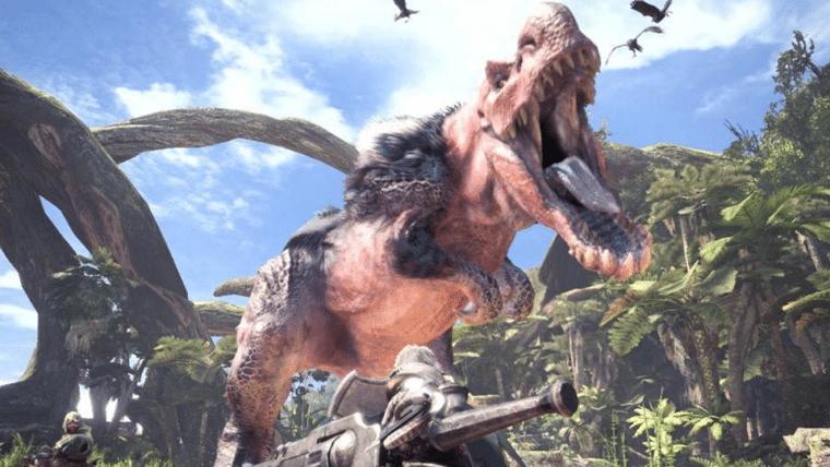 Monster Hunter: World bate recorde de distribuição mundial da Capcom
