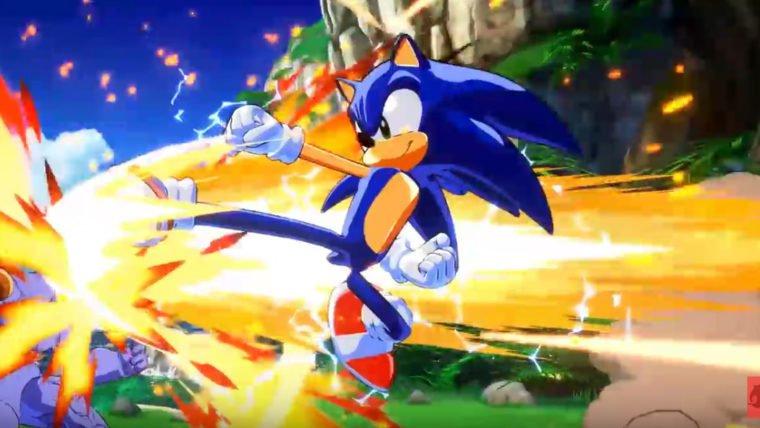 Dragon Ball FighterZ   Fãs criam mod para jogar com Sonic e Nicolas Cage