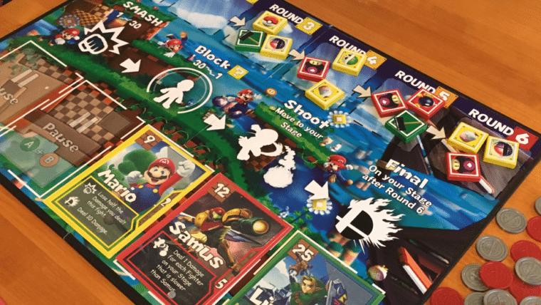 E se Super Smash Bros. fosse um jogo de tabuleiro?