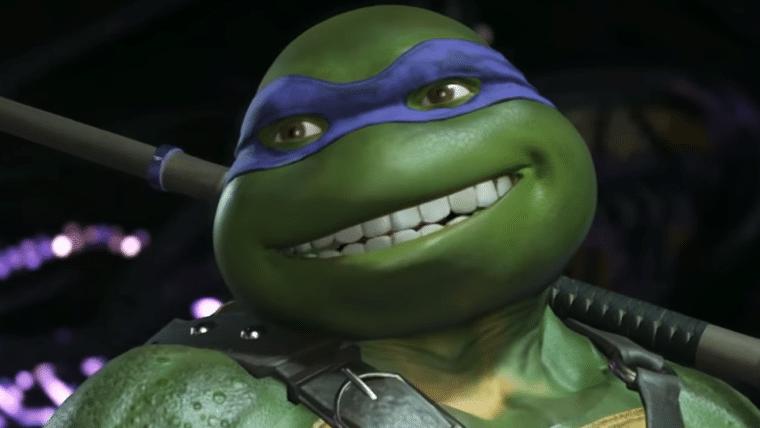 Tartarugas Ninja aproveitam uma pizza no trailer inédito de Injustice 2