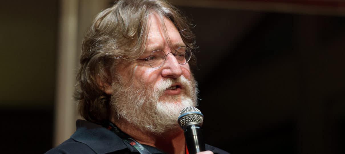 Microsoft não está comprando a Valve, garante Gabe Newell