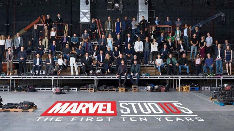 Marvel Studios junta o elenco de todos os filmes para celebrar seus dez anos; assista!