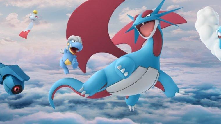 Pokémon GO recebe novas criaturas, incluindo o lendário Rayquaza