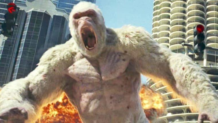 Rampage: Destruição Total | Trailer japonês mostra mais dos monstros gigantes