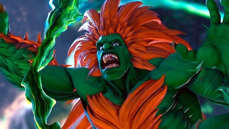 Street Fighter V | Blanka é revelado em novo trailer de gameplay
