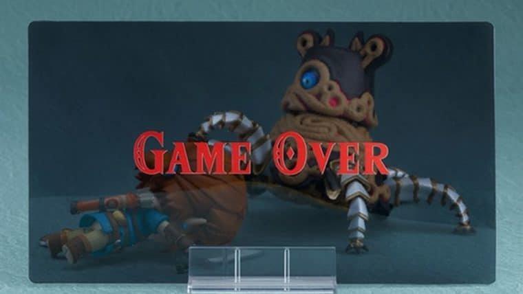 Nendoroid do Guardião de The Legend of Zelda: Breath of the Wild inclui tela de Game Over