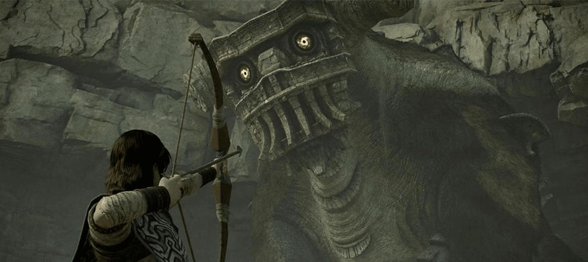 Bluepoint está trabalhando em um remake maior do que Shadow of the Colossus