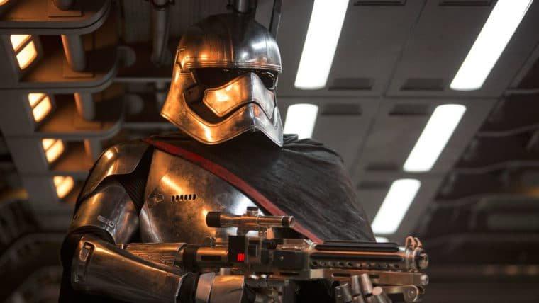Star Wars: Os Últimos Jedi | Cena deletada dá um final impactante para Capitã Phasma