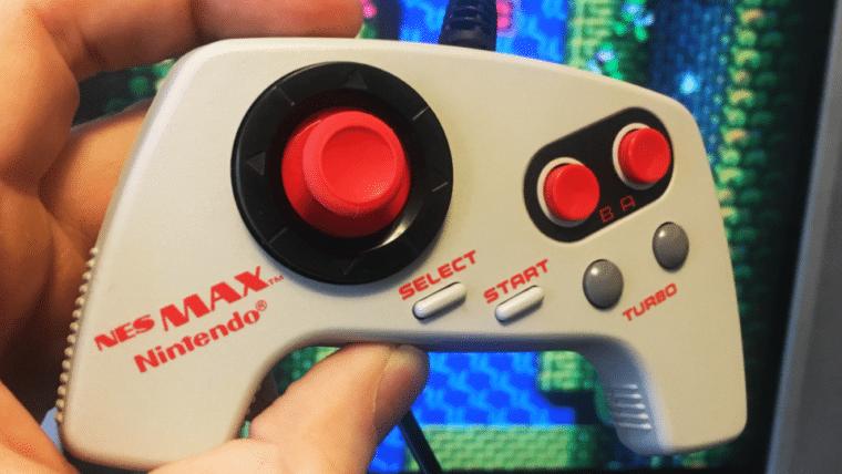 Fã moderniza o clássico controle do NES Max com um analógico do Xbox One