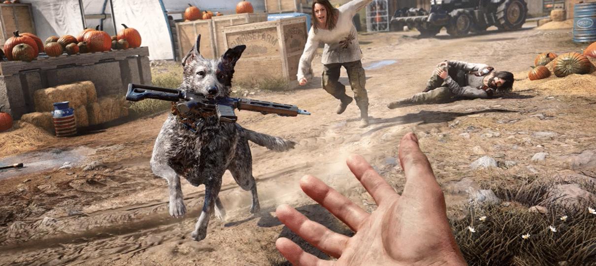Far Cry 5 terá microtransações porque queriam um jogo