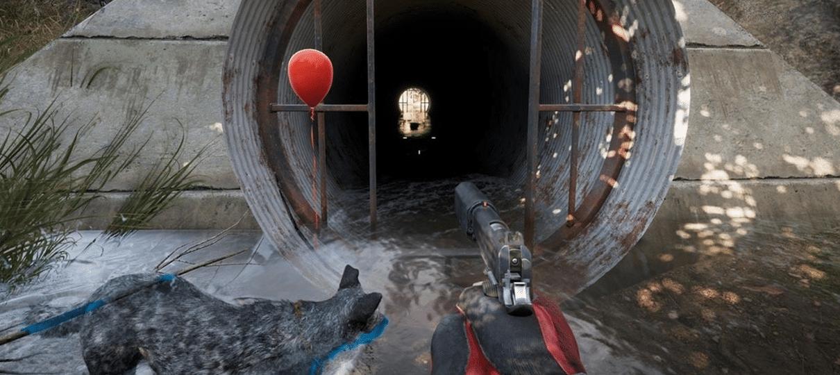 Jogadores encontraram referências a It: A Coisa em Far Cry 5!