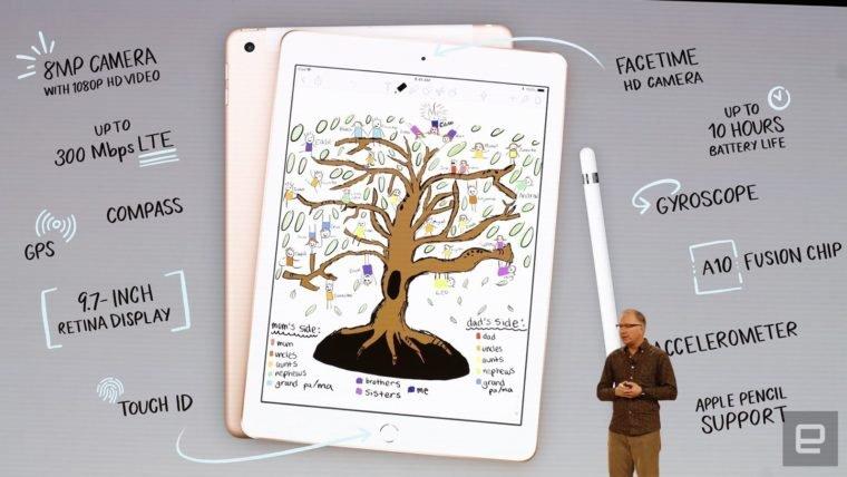 Apple anuncia iPad voltado para o uso educacional