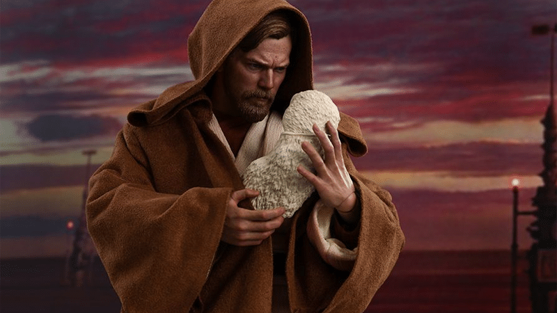 Star Wars | Hot Toys anuncia action figure do Obi-Wan com o bebê Luke