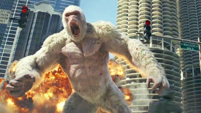 Rampage: Destruição Total  tem estreia adiantada nos EUA