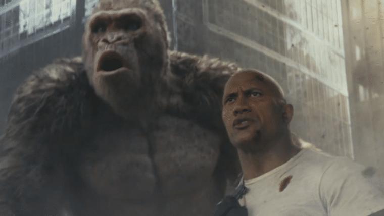 O destino do mundo está nas mãos de The Rock em novo trailer de Rampage: Destruição Total