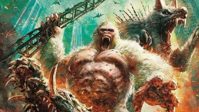 Rampage: Destruição Total | Os monstros venceram no pôster japonês do filme