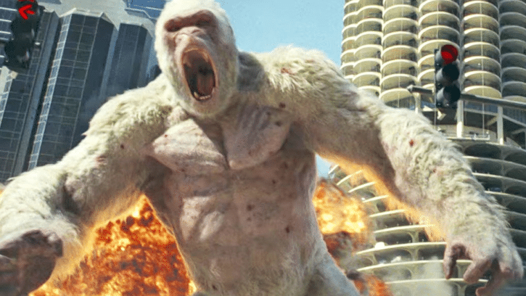 Rampage: Destruição Total não cairá na maldição dos filmes de videogame, diz The Rock