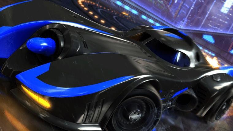 Rocket League ganha DLC com Batmóvel e outros carros da DC Comics