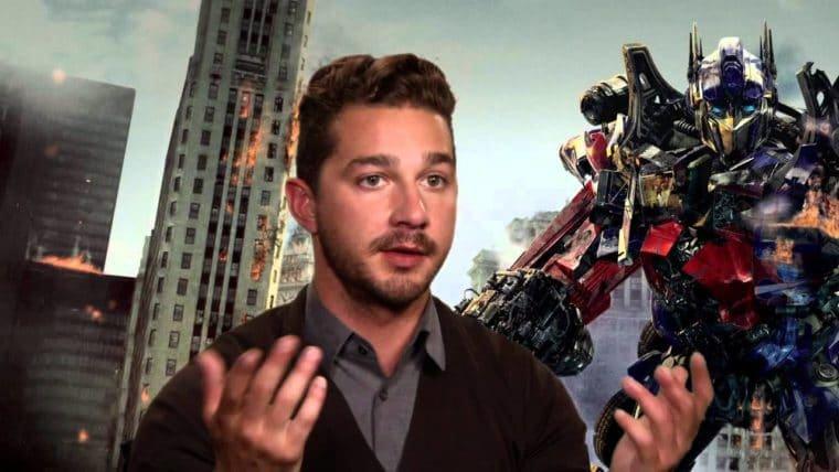 Shia LaBeouf diz que os filmes de Transformers são irrelevantes