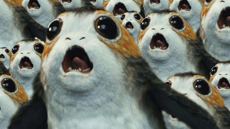 Star Wars: Os Últimos Jedi | Designer dos Porgs diz que estava com medo da reação dos fãs