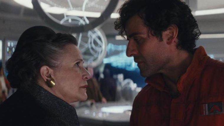 Star Wars: Os Últimos Jedi | Vídeo compila os tapas que Carrie Fisher deu em Oscar Isaac