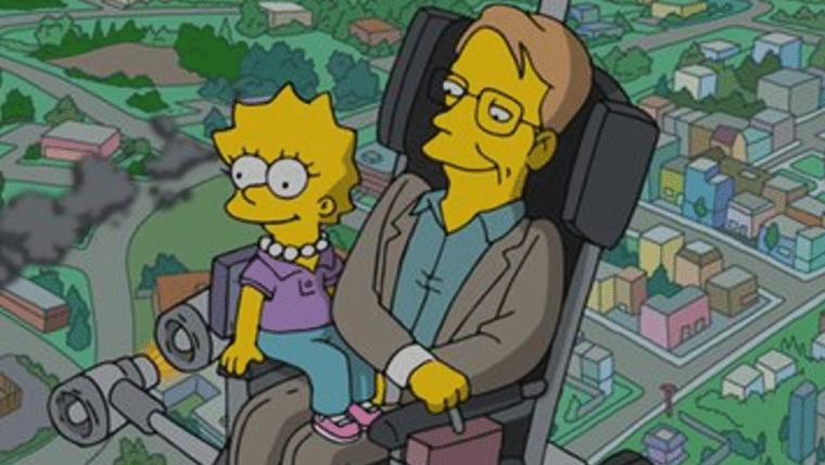 Mais recente episódio de Os Simpsons foi dedicado a Stephen Hawking
