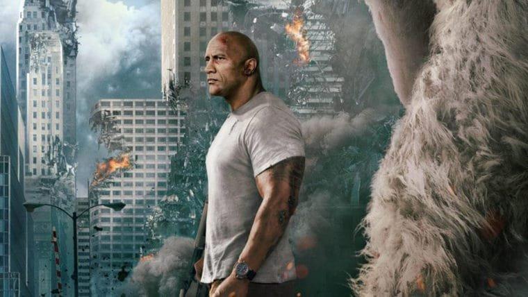 Rampage: Destruição Total | The Rock encara a devastação em novo pôster