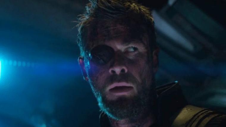 Cartaz de Vingadores: Guerra Infinita tem erro no olho de Thor