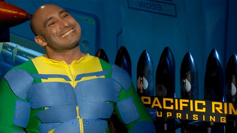 Círculo de Fogo: A Revolta | Rex, o piloto brasileiro, conversou com o elenco em LA!