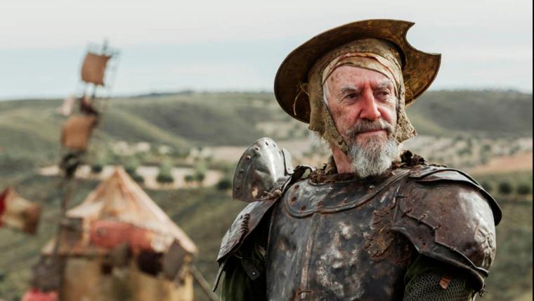 A jornada de um sonhador começa com o novo trailer de The Man Who Killed Don Quixote
