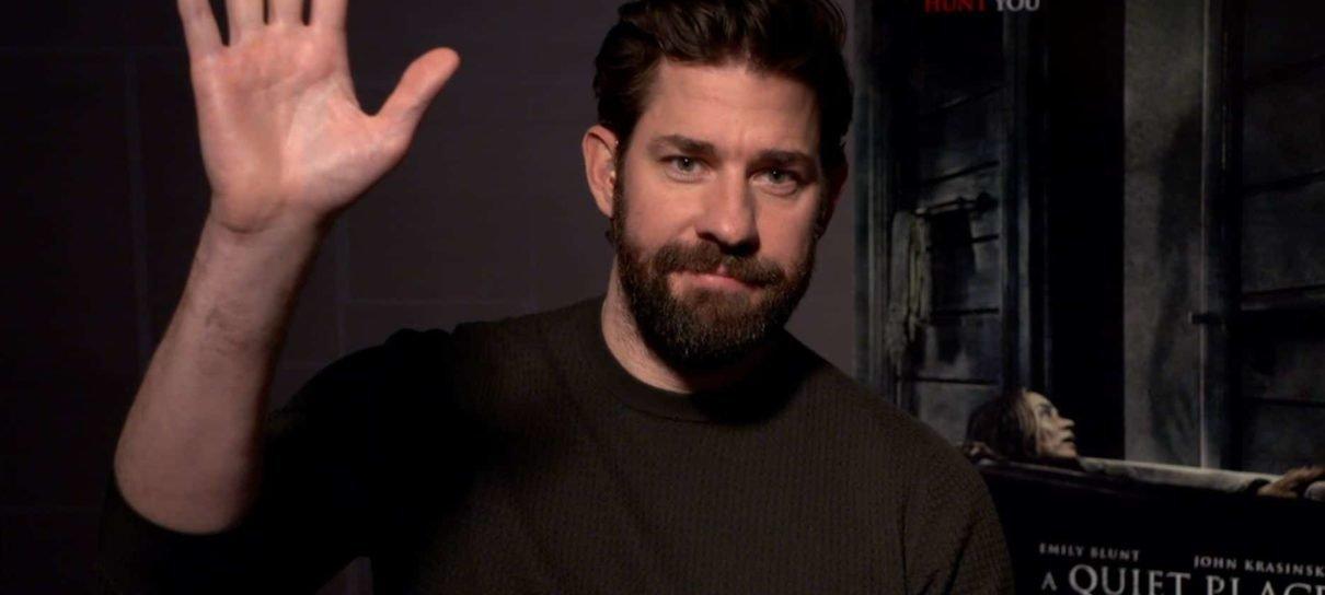 John Krasinski quer interpretar o Senhor Fantástico ou outro super-herói nas telonas