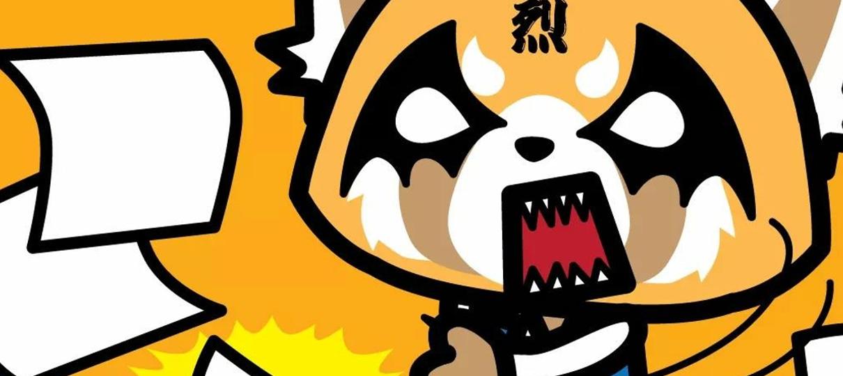 Dando vida (e voz!) para Aggretsuko, a panda agressiva